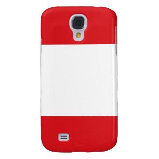 iPhone de la bandera de Perú Funda Para Galaxy S4