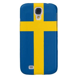 iPhone de la bandera de Suecia Funda Para Galaxy S4
