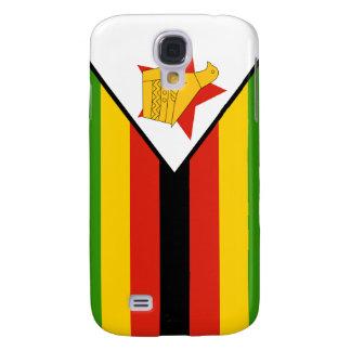 iPhone de la bandera de Zimbabwe Funda Para Galaxy S4