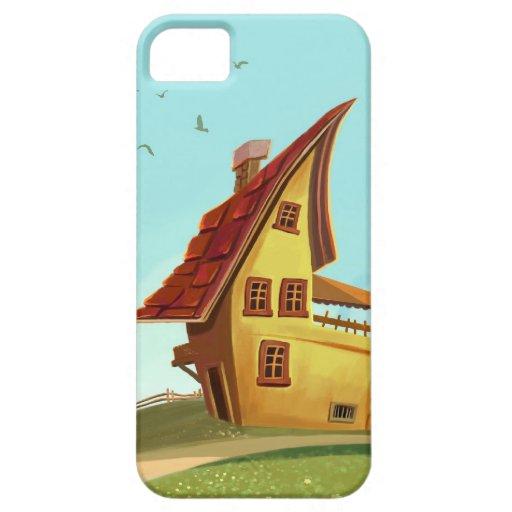 iPhone de la casa del dibujo animado 5 casos iPhone 5 Fundas