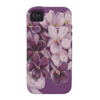 iPhone de la casamata del ramo del ramillete de fl Vibe iPhone 4 Carcasa
