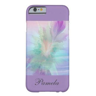 iPhone de la explosión/de la lavanda de color en Funda De iPhone 6 Barely There
