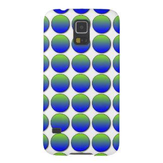 Iphone de la galaxia S5 de Samsung de los lunares  Fundas Para Galaxy S5