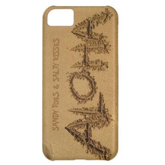 iPhone de la HAWAIANA, dedos del pie de Sandy y be Funda Para iPhone 5C