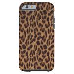 iPhone de la ilusión del leopardo por Valxart.com Funda De iPhone 6 Tough