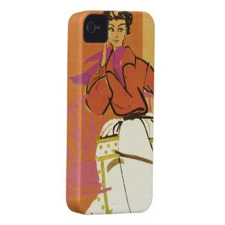 Iphone de la moda del vintage 4 cubiertas Case-Mate iPhone 4 protectores