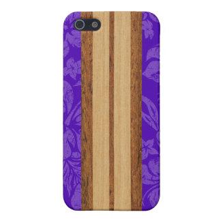 iPhone de la tabla hawaiana de la playa de la pues iPhone 5 Cárcasas