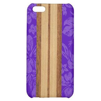 iPhone de la tabla hawaiana de la playa de la pues