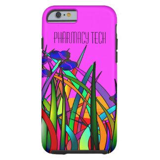 iPhone de la tecnología de la farmacia 6 flores Funda De iPhone 6 Tough