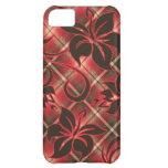 iPhone de la tela escocesa del hibisco de Mauna Lo