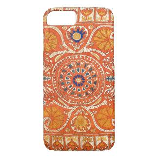 iPhone de las ilustraciones de la materia textil Funda iPhone 7