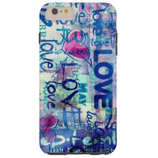 iPhone de los amantes 6 cas más Funda Para iPhone 6 Plus Tough