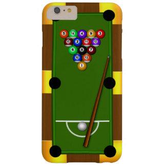 iPhone de los billares de la bola de la mesa de Funda De iPhone 6 Plus Barely There