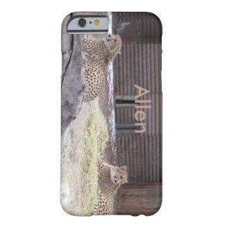 iPhone de los guepardos seis casos Funda De iPhone 6 Barely There