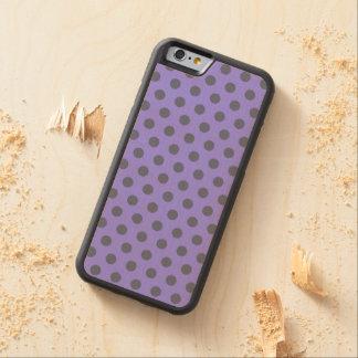 iPhone de madera 6 Polkadots del caso Funda De iPhone 6 Bumper Arce