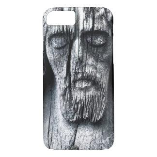 iPhone de madera 7, caja de Jesús Apple del Funda iPhone 7