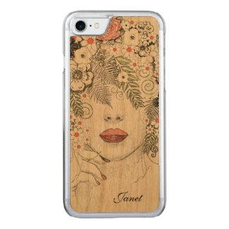 iPhone de madera abstracto 6 de la madre Funda Para iPhone 7