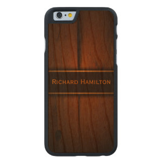 iPhone de madera báltico de Carved® de madera de Funda De iPhone 6 Carved® Slim De Cerezo