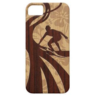iPhone de madera de la tabla hawaiana de la Funda Para iPhone SE/5/5s