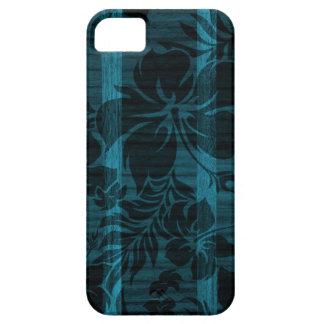iPhone de madera de la tabla hawaiana de la playa iPhone 5 Fundas