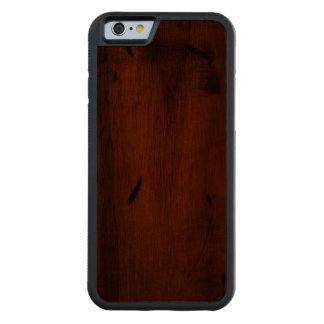 iPhone de madera de madera de Carved® del pino Funda De iPhone 6 Bumper Nogal