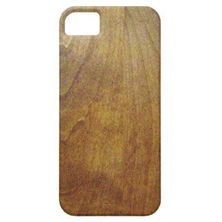 Iphone de madera del grano iPhone 5 Case-Mate protector