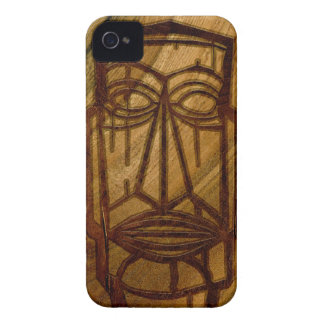 iPhone de madera hawaiano de Hapalua Tiki falso Carcasa Para iPhone 4