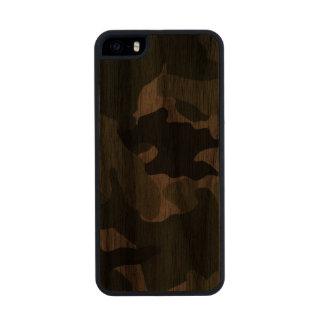 iPhone de madera militar verde de Camo Carved® 5 Funda De Madera Para iPhone 5