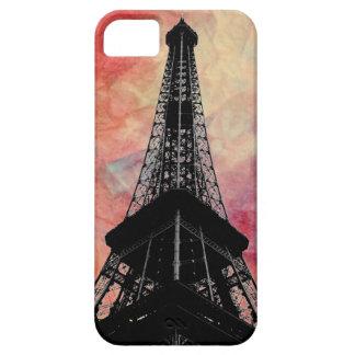 iPhone de mármol rosado 5 Cae de la torre Eiffel Funda Para iPhone SE/5/5s