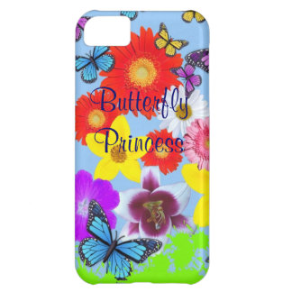iPhone de princesa Cool de la mariposa 5 casos Carcasa Para iPhone 5C