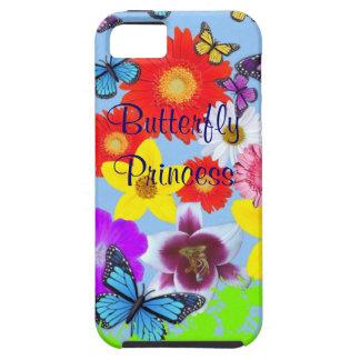 iPhone de princesa Cool de la mariposa 5 casos Funda Para iPhone SE/5/5s