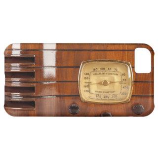 iPhone de radio de antaño divertido 5 del diseño d Funda Para iPhone 5C