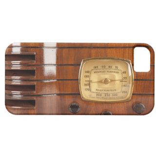 iPhone de radio de antaño divertido 5 del diseño Funda Para iPhone 5 Barely There