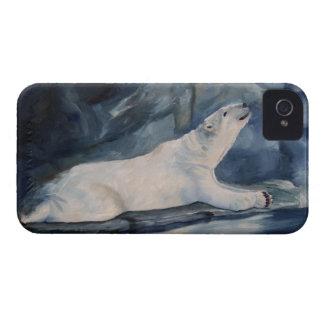 Iphone de rogación del oso polar 4 apenas allí QPC iPhone 4 Case-Mate Carcasa