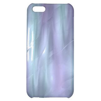 iPhone de seda líquido azul claro y púrpura 4 del