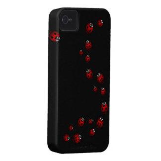 iPhone de señora Bird del caso del iPhone de la ma iPhone 4 Protectores