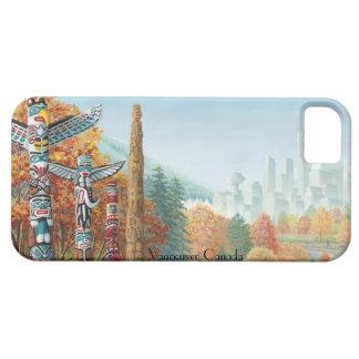iPhone de Vancouver 5 regalos del tótem de Funda Para iPhone 5 Barely There