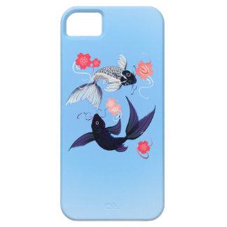 iPhone de Yin y de Yang Koi 5 casos Funda Para iPhone SE/5/5s