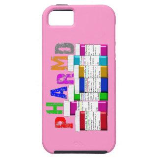 iPhone del ambiente de PharmD 5 envases rosados de iPhone 5 Case-Mate Cobertura
