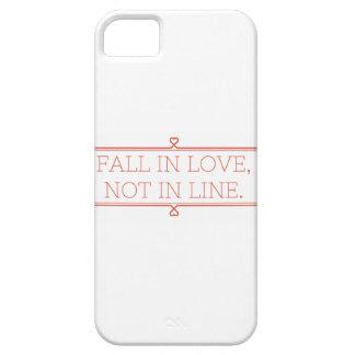 iPhone del amor iPhone 5 Fundas