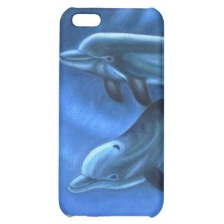 iPhone del arte del delfín 4 cajas de la mota