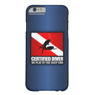 Iphone del buceador de Certifed 6 casos Funda Para iPhone 6 Barely There