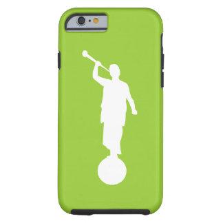 iPhone del caso de Moroni del ángel (verde lima) 6 Funda Para iPhone 6 Tough