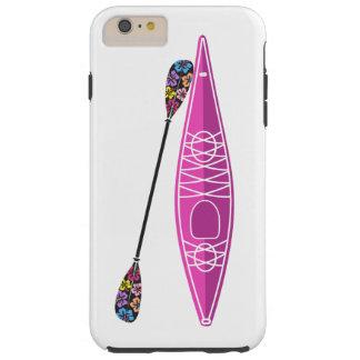 iPhone del chica del kajak/caso del iPad Funda De iPhone 6 Plus Tough