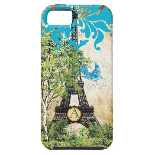 iPhone del damasco de la torre de Effiel del pájar iPhone 5 Cobertura
