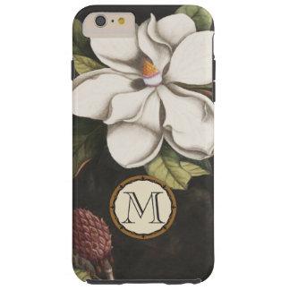 Iphone del estampado de plores de la magnolia del funda para iPhone 6 plus tough