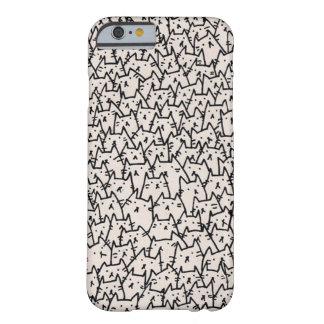 iPhone del gato Funda Barely There iPhone 6