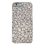 iPhone del gato Funda Para iPhone 6 Barely There