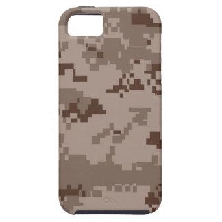 iPhone del modelo de Camo del desierto de Digitace iPhone 5 Protectores