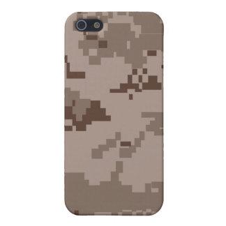Iphone del modelo de Camo del desierto de Digitace iPhone 5 Protector
